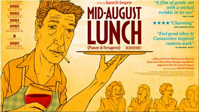 Movie Review - Mid-August Lunch (Pranzo di Ferragosto) | Cine Europa 16