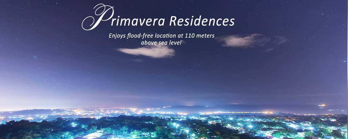 Location | Primavera Residences | View from Pueblo de Oro | Cagayan de Oro City