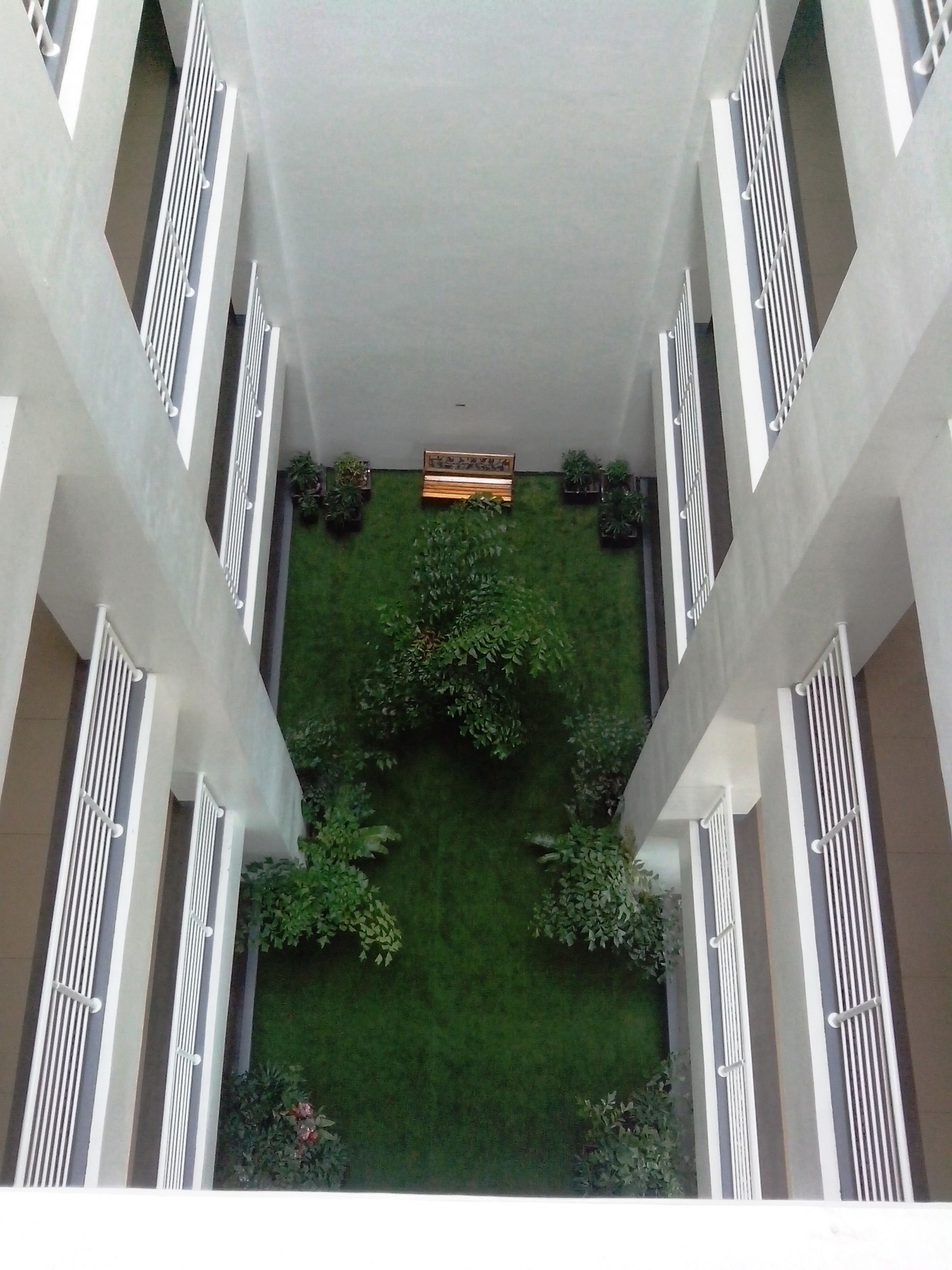 Inner Courtyard at Primavera Residences