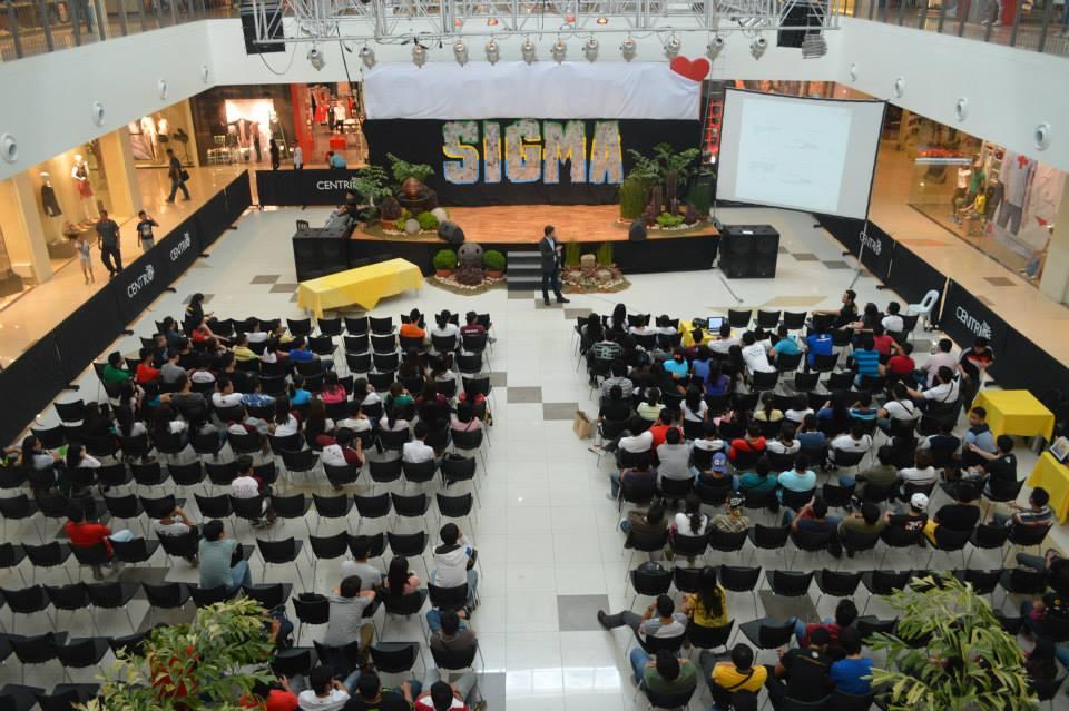 SIGMA event at centrio with arch nati
