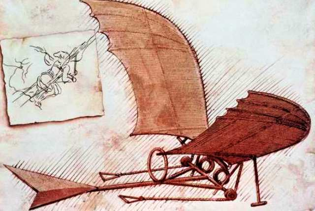 Leonardo da Vinci: likely the first of a long list of Italian innovators