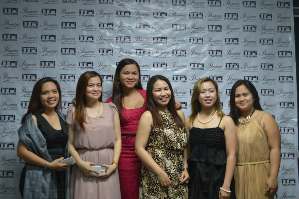 The writer, Kathy Yu (third from right) with friends and guests