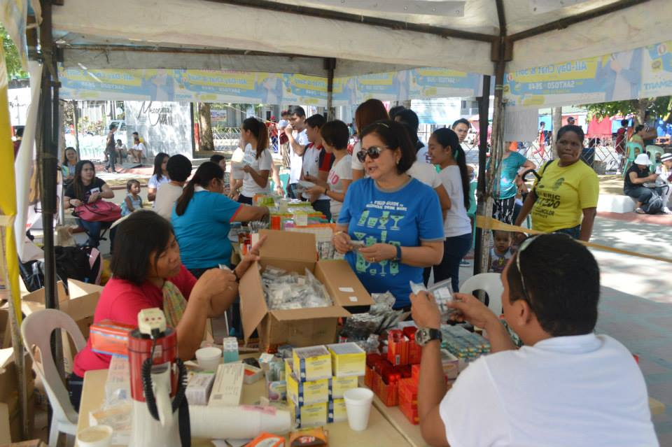 Primavera supports medical mission for mayor moreno's birthday