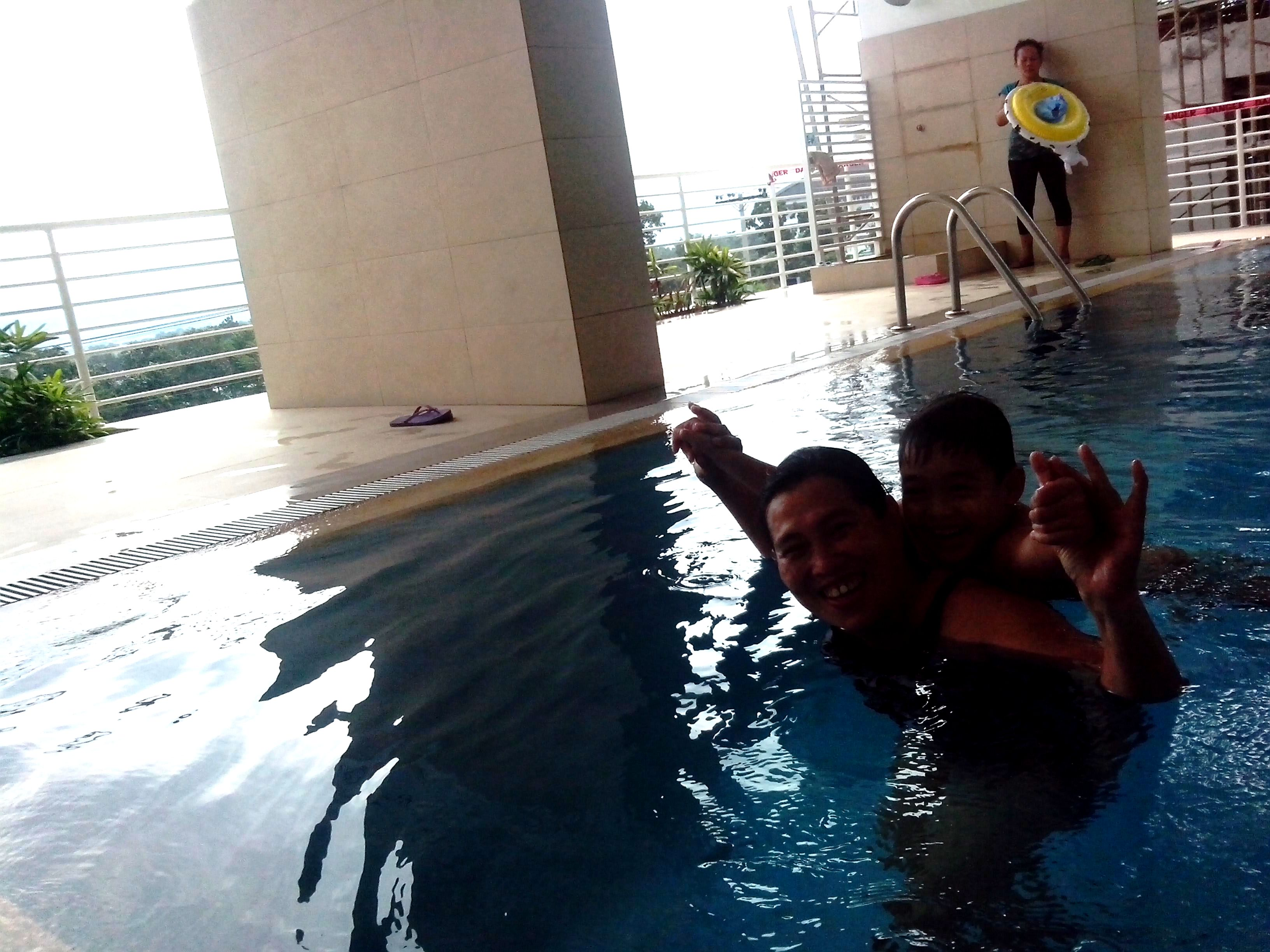 Swimming Pool experience at Primavera Residences