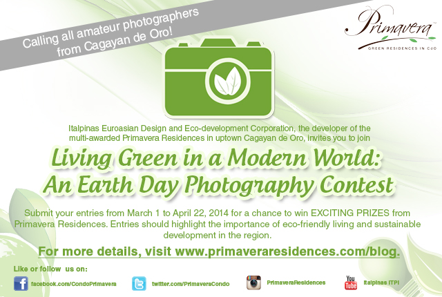 Calling all amateur photographers in CDO! Join the Primavera Earth Day Photography Contest!
