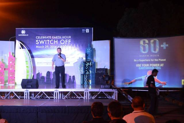 Earth Hour 2014 at SM City CDO-7