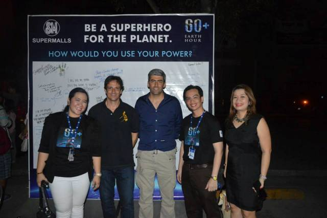 From left: SM City CdO Mall Manager Clara Elizaga, ITPI CEO Arch. Romolo V. Nati, renewable energy expert Gabriele Boccia