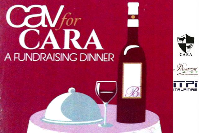 CARA fundraising dinner