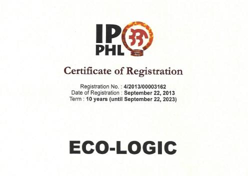 Eco-Logic certificate