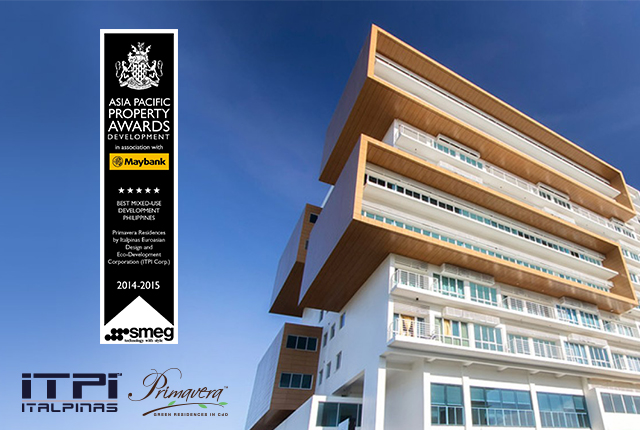 Best MIxed-Use Development in the Philippines - Primavera Residences