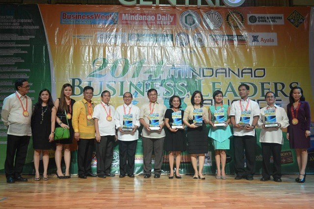Mindanao Business Leaders Awards winners