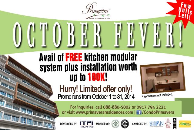 October fever promo