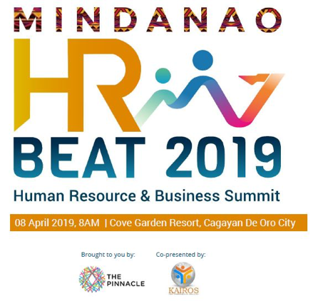 ARCHITECT NATI INVITED TO THE MINDANAO HR BEAT 2019